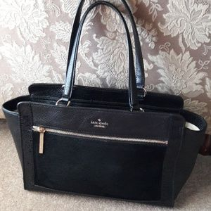 Kate Spade pebble leather tote bag purse